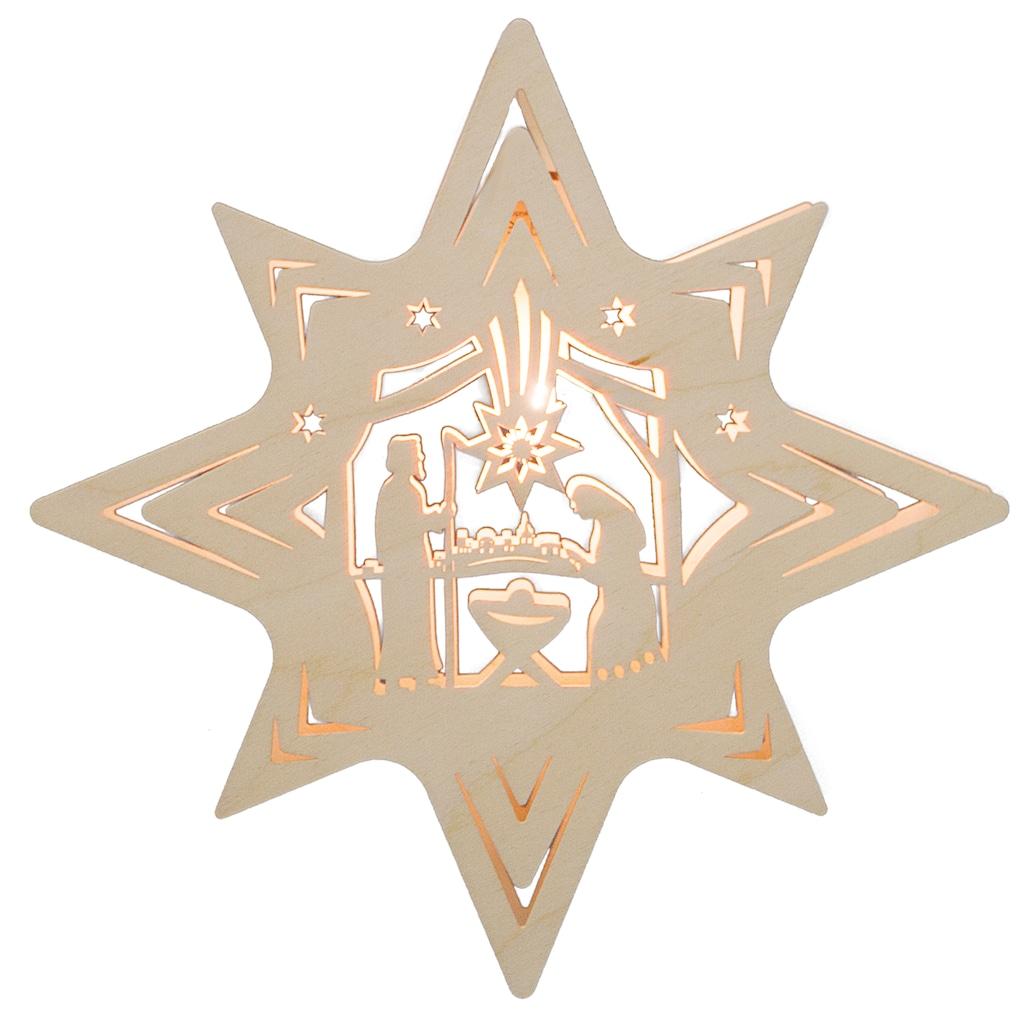 Weigla Beleuchtetes Fensterbild, »Christi Geburt«, (1-tlg.)