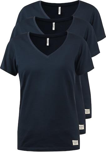 DESIRES V-Shirt »Vanni«, T-Shirts im 3er-Pack kaufen
