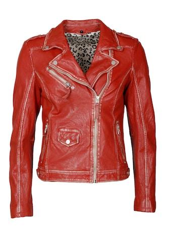 JCC Lederjacke »51300«, Bikerjacke im Used-Look kaufen
