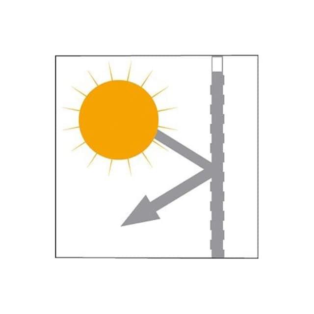 Verdunkelungsvorhang, »Solana-Star«, my home, Kräuselband 2 Stück