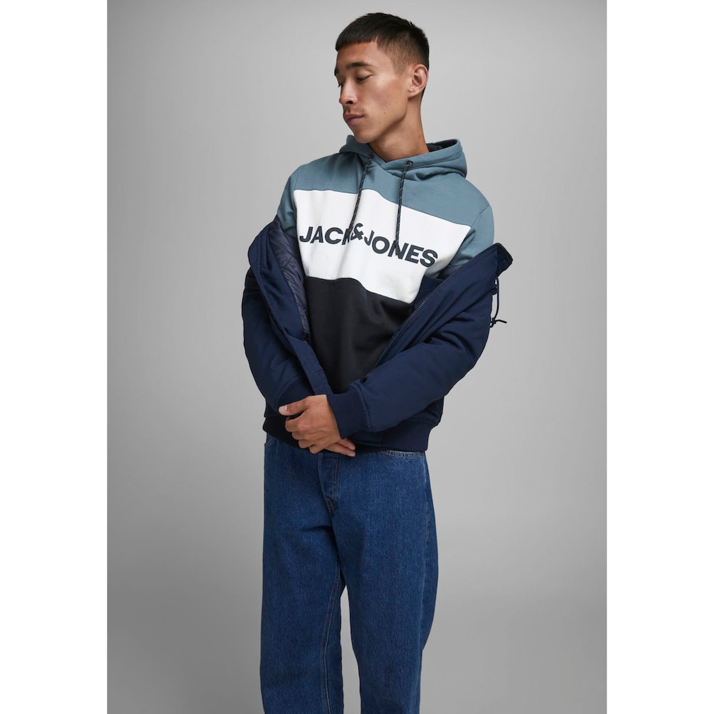 Jack & Jones Kapuzensweatshirt »LOGO BLOCKIN SWEAT HOOD«