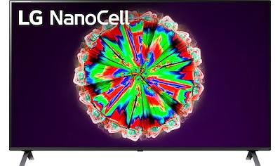 "LG LED-Fernseher »65NANO806NA«, 164 cm/65 "", 4K Ultra HD, Smart-TV, NanoCell kaufen"
