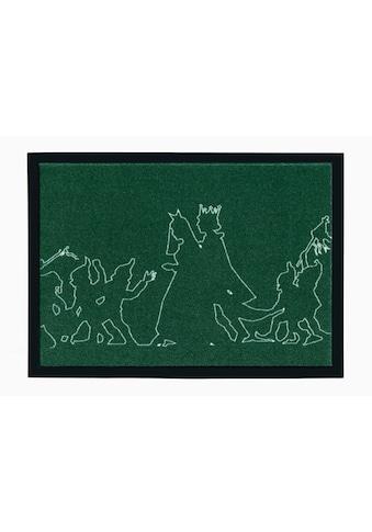 Fußmatte, »Märchen 3«, grimmliis, rechteckig, Höhe 2 mm, maschinell gewebt kaufen