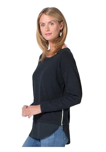 Ambria Pullover mit frechem Reißverschluss seitlich kaufen