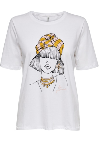Only Rundhalsshirt »ONLVIOLET« kaufen