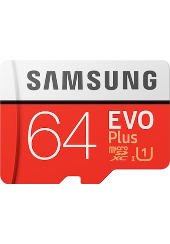 Samsung »EVO Plus microSD« Speicherkarte (100 MB/s Lesegeschwindigkeit maximal) kaufen
