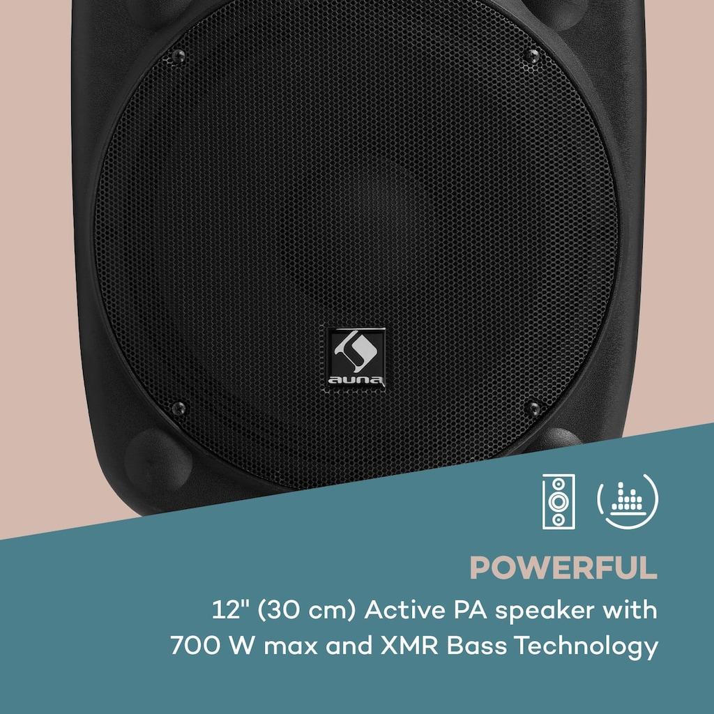 "Auna Aktiver PA Lautsprecher 12"" 700 W max. USB- und SD-Ports MP3 »SLK-12-A«"