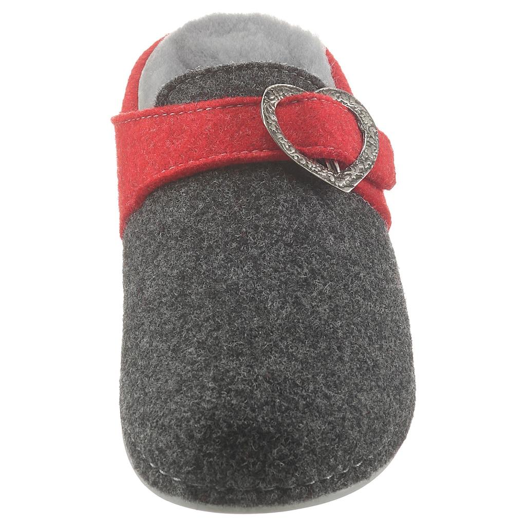 MUBB Pantoffel »SONJA«, in Komfortweite G