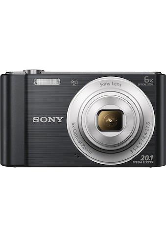 Sony Kompaktkamera »DSC-W810«, 20,1 MP, 6x opt. Zoom, Gesichtserkennungstechnologie... kaufen