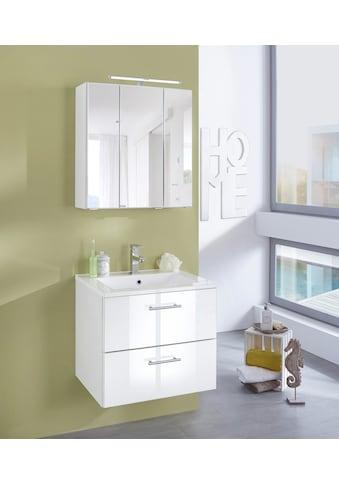 WELLTIME Waschplatz - Set »Trento «, Waschtisch, Breite 60 cm, 2 - tlg. kaufen