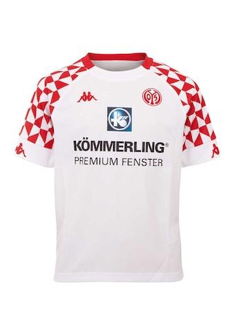 Kappa Fußballtrikot »MAINZ 05 AUSWÄRTSTRIKOT KIDS«, mit Mainzer Stadtwappen im... kaufen