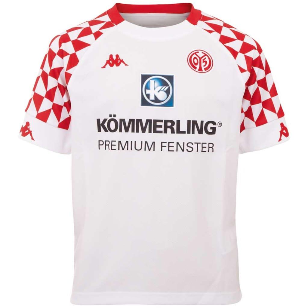 Kappa Fußballtrikot »MAINZ 05 AUSWÄRTSTRIKOT KIDS«, mit Mainzer Stadtwappen im Nacken<br />