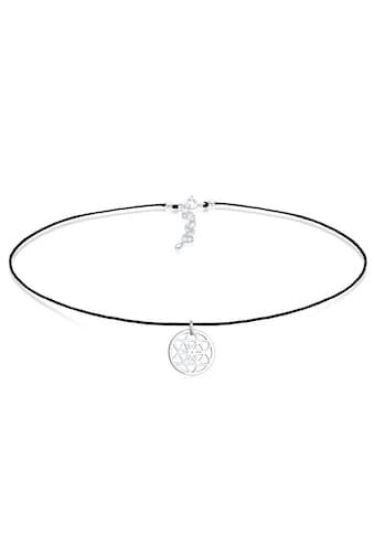 Elli Collier »Choker Ornament Trend Band 925 Silber« kaufen