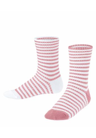 Esprit Socken »Sporty Stripe 2-Pack«, (2 Paar), aus Baumwolle kaufen