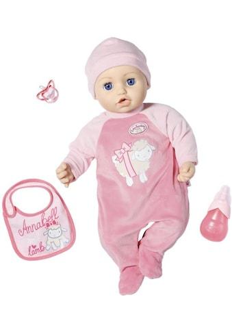 Baby Annabell Babypuppe »Annabell, 43 cm«, interaktiv mit Schlafaugen kaufen