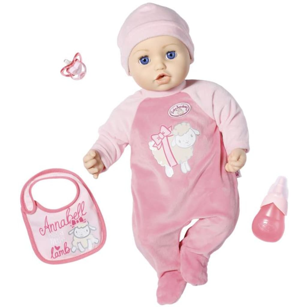 Baby Annabell Babypuppe »Annabell, 43 cm«, interaktiv mit Schlafaugen