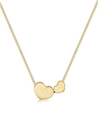 Elli Kette mit Anhänger »Herz Symbol Liebe 925 Sterling Silber« kaufen