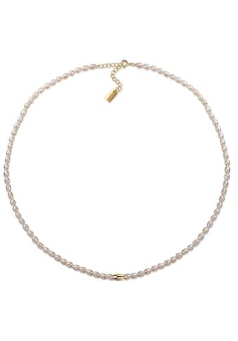 AILORIA Perlenkette »SANAKO gold/weiße Perle«, 925 Sterling Silber vergoldet... kaufen