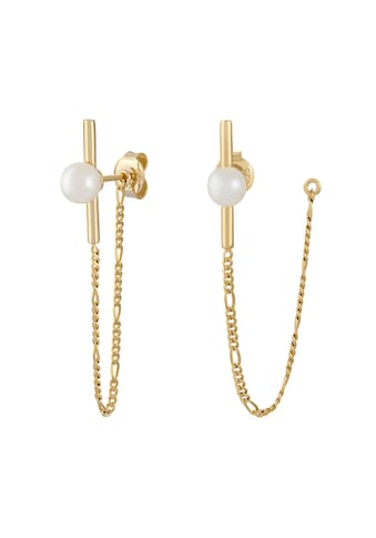 CAÏ Paar Ohrhänger »925/- Sterling Silber vergoldet Perlen« kaufen