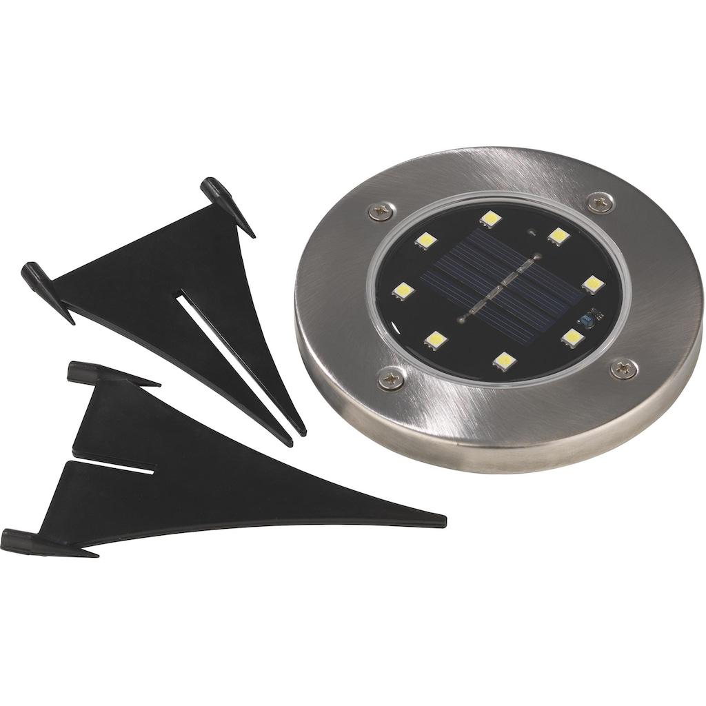 EASYmaxx LED Gartenleuchte »Solar-Bodenleuchte«, LED-Board, 4er Set