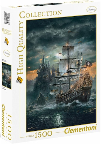 Clementoni® Puzzle »High Quality Collection - Das Piratenschiff«, Made in Europe kaufen