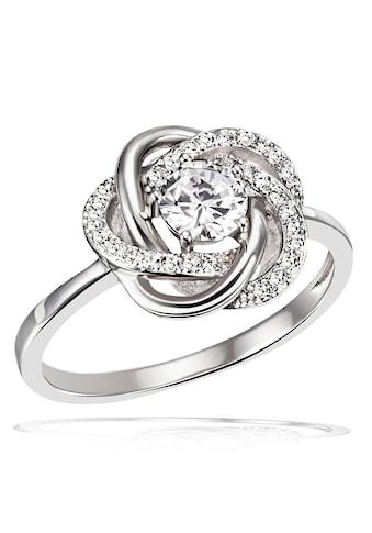 goldmaid Silberring, Ring Blüte 925er Sterlingsilber 31 Zirkonia kaufen