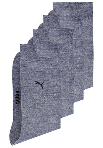 PUMA Basicsocken, (4 Paar), mit druckfreiem Komfortbund kaufen