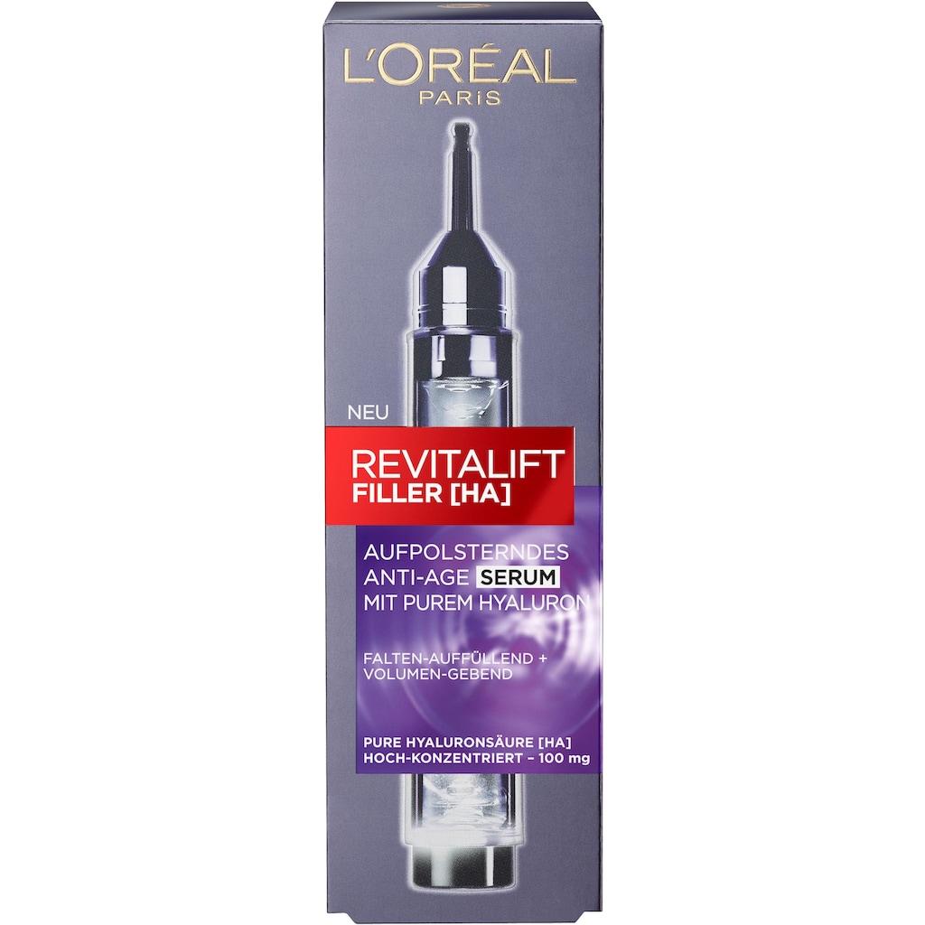 L'ORÉAL PARIS Gesichtsserum »RevitaLift Filler«, mit purer Hyaluronsäure
