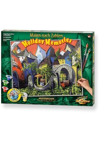 Schipper Malen nach Zahlen »Meisterklasse Premium - Holiday Memories«, Made in Germany kaufen