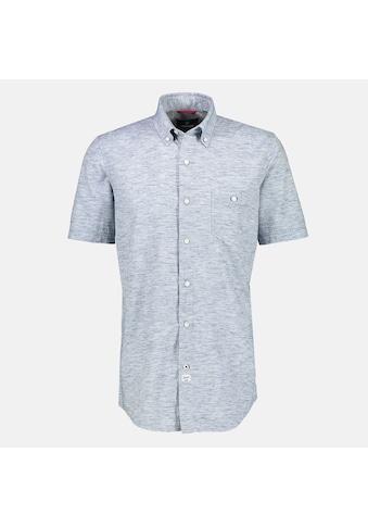 LERROS Kurzarmhemd, in Struktur-Melange-Qualität, mit Brusttasche kaufen