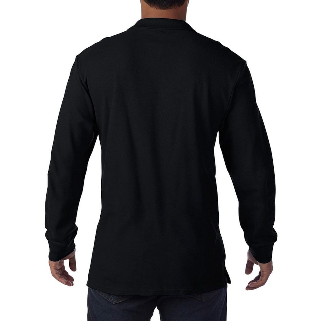 Gildan Poloshirt »Herren Premium Pique Polo-Hemd, langärmlig«
