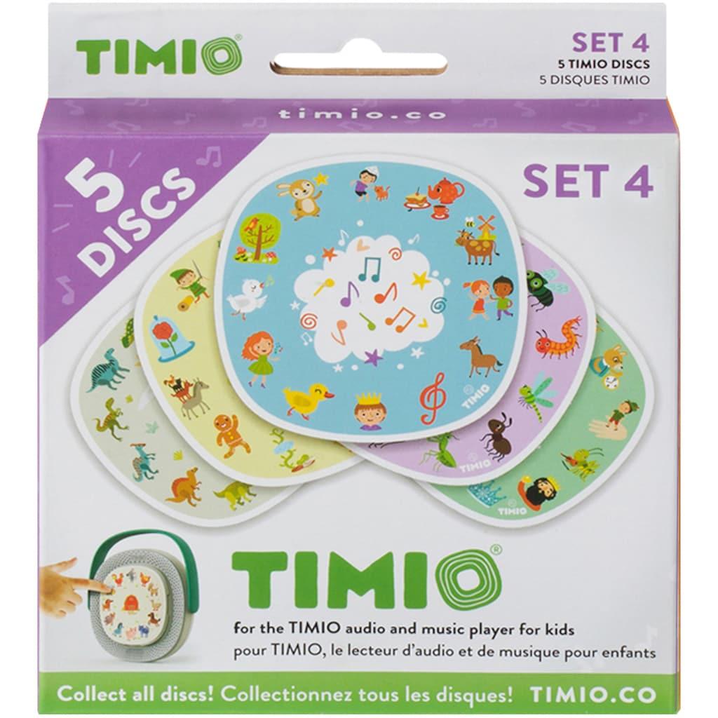 TIMIO Lernspielzeug »TIMIO Disc-Set 4«, magnetische Audio-Discs für den TIMIO Player