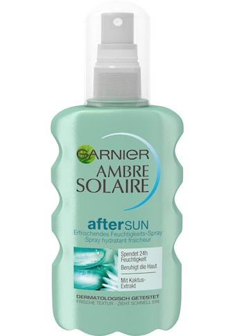 GARNIER After Sun-Spray »Ambre Solaire Feuchtigkeits-Après«, mit Kaktus-Extrakt kaufen