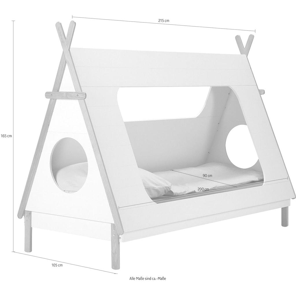 Lüttenhütt Kinderbett »Dolidoo«, in Zeltform, Hausbett, Zeltbett