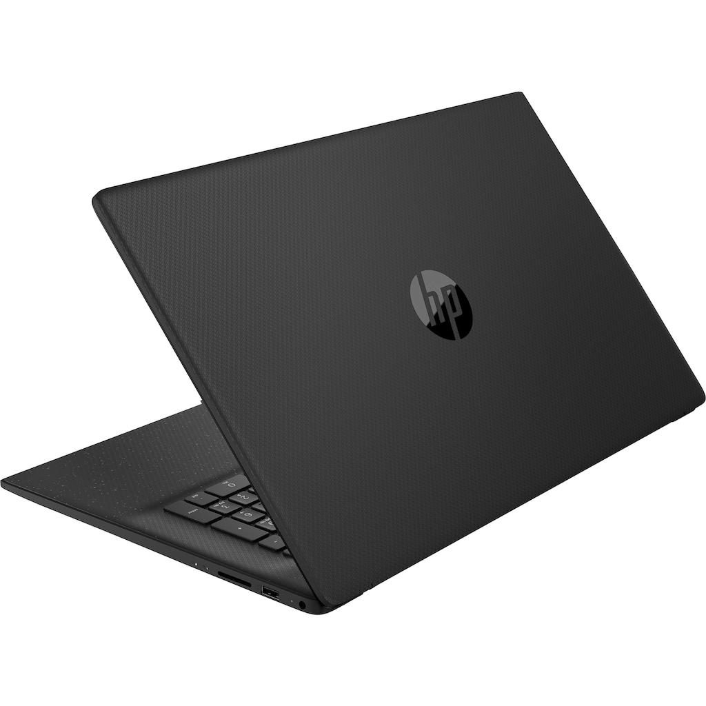 "HP Notebook »17-cn0235ng«, (43,9 cm/17,3 "" Intel Core i3 UHD Graphics\r\n 512 GB SSD), Kostenloses Upgrade auf Windows 11, sobald verfügbar"