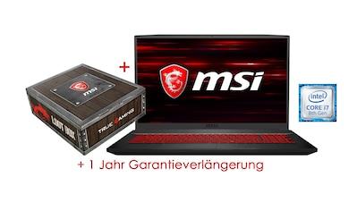 MSI 43,9 cm (17,3''), i7 - 8750H, 8GB RAM, 128GB SSD, GTX 1050 Ti »GF75 8RD - 013DE Thin« kaufen