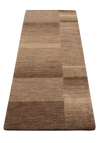 Theko Exklusiv Läufer »Jorun«, rechteckig, 14 mm Höhe, von Hand gearbeitet kaufen