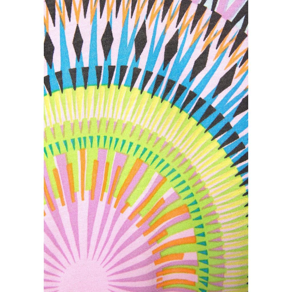 Beachtime Strandkleid, mit grafischem Print