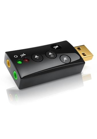 CSL Externe USB Soundkarte mit 7.1 Virtual Surround »Funktionstasten / Dynamic 3D... kaufen