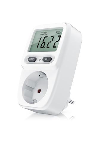 Bearware Stromverbrauchszähler mit Kindersicherung »Power Meter Energiekostenmessgerät« kaufen