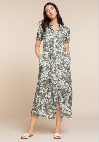 bianca Hemdblusenkleid »DORINE«, durchgeknöpft mit sommerlichem Jungle-Print kaufen