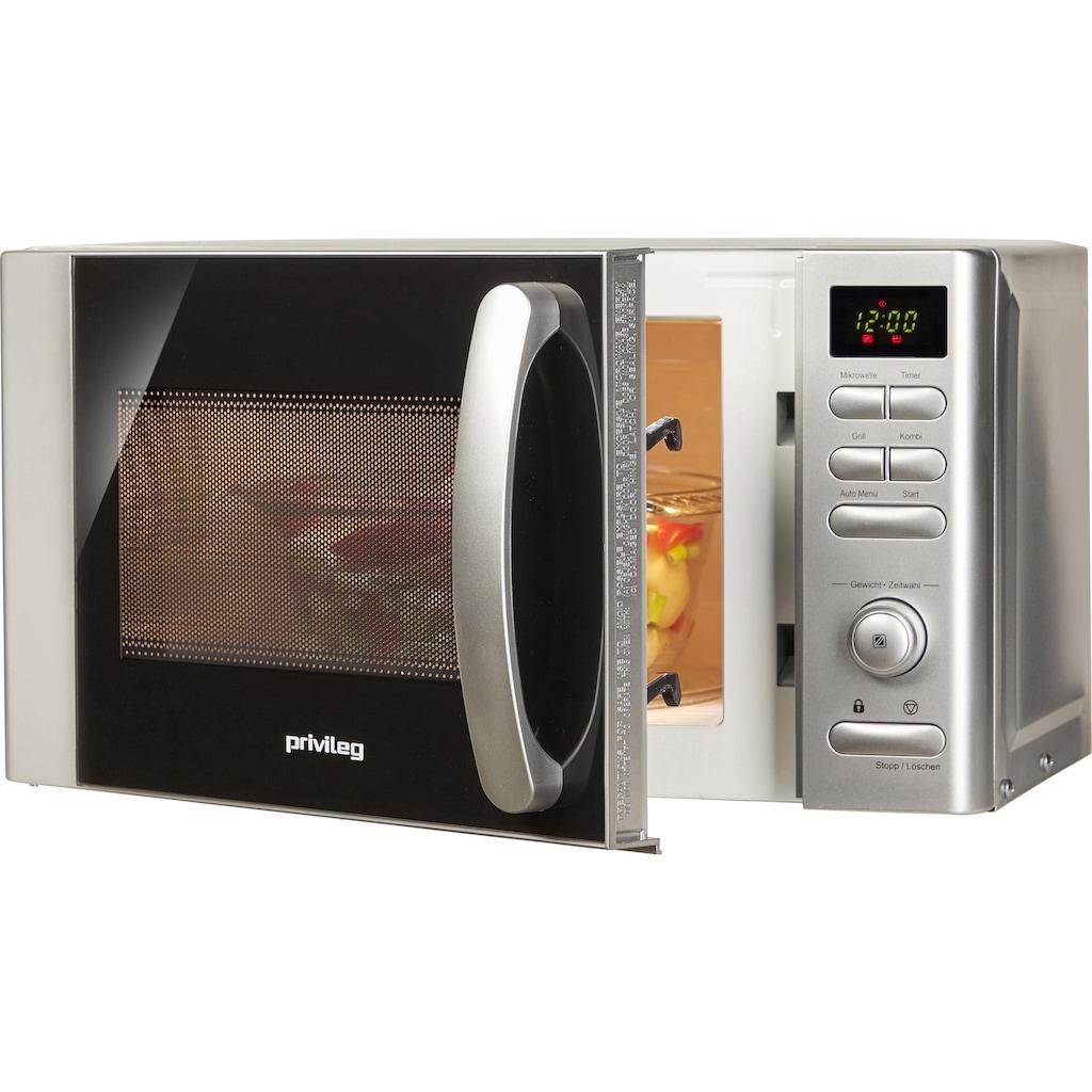 Privileg Mikrowelle »22875556«, Grill, 700 W, mit 9 Automatikprogrammen