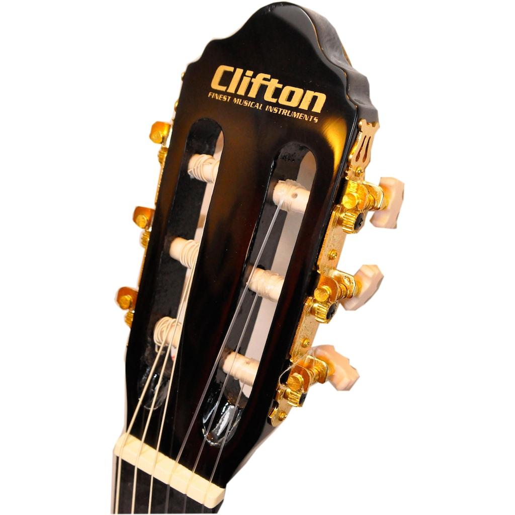 Clifton Konzertgitarre »Solo«, 4/4, Komplettset