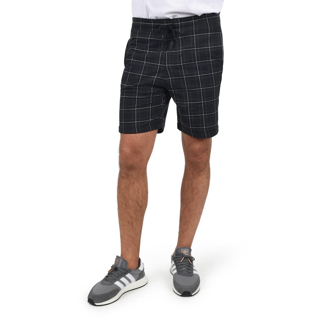 Blend Sweatshorts »20709611«, kurze Hose mit Karo-Muster