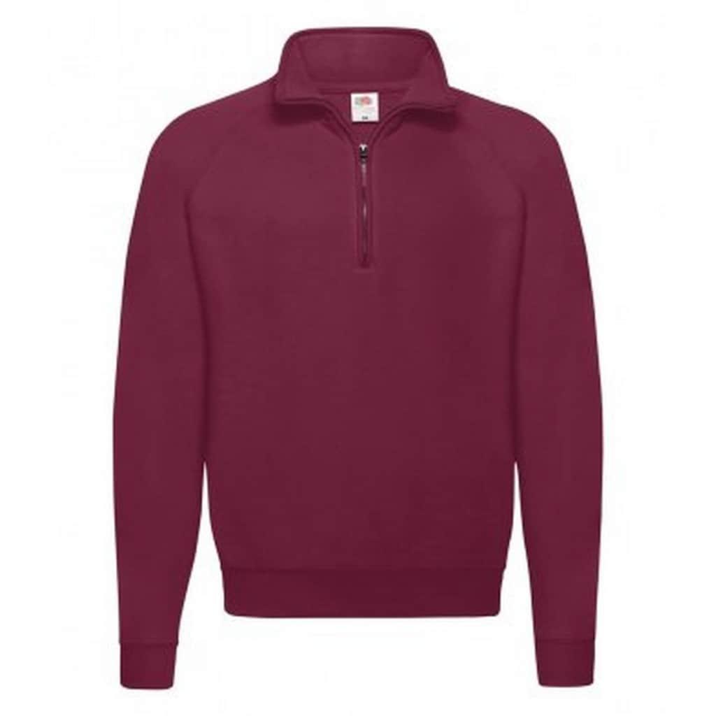 Fruit of the Loom Fleecepullover »Erwachsene Unisex Klassik Zip Sweatshirt«