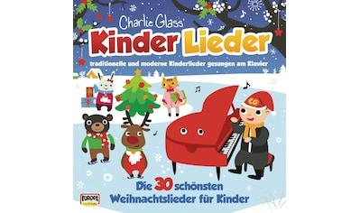 Musik - CD Kinder Weihnacht - Die 30 Schönsten Weihnachtslied / Charlie Glass' Kinder Lieder, (1 CD) kaufen