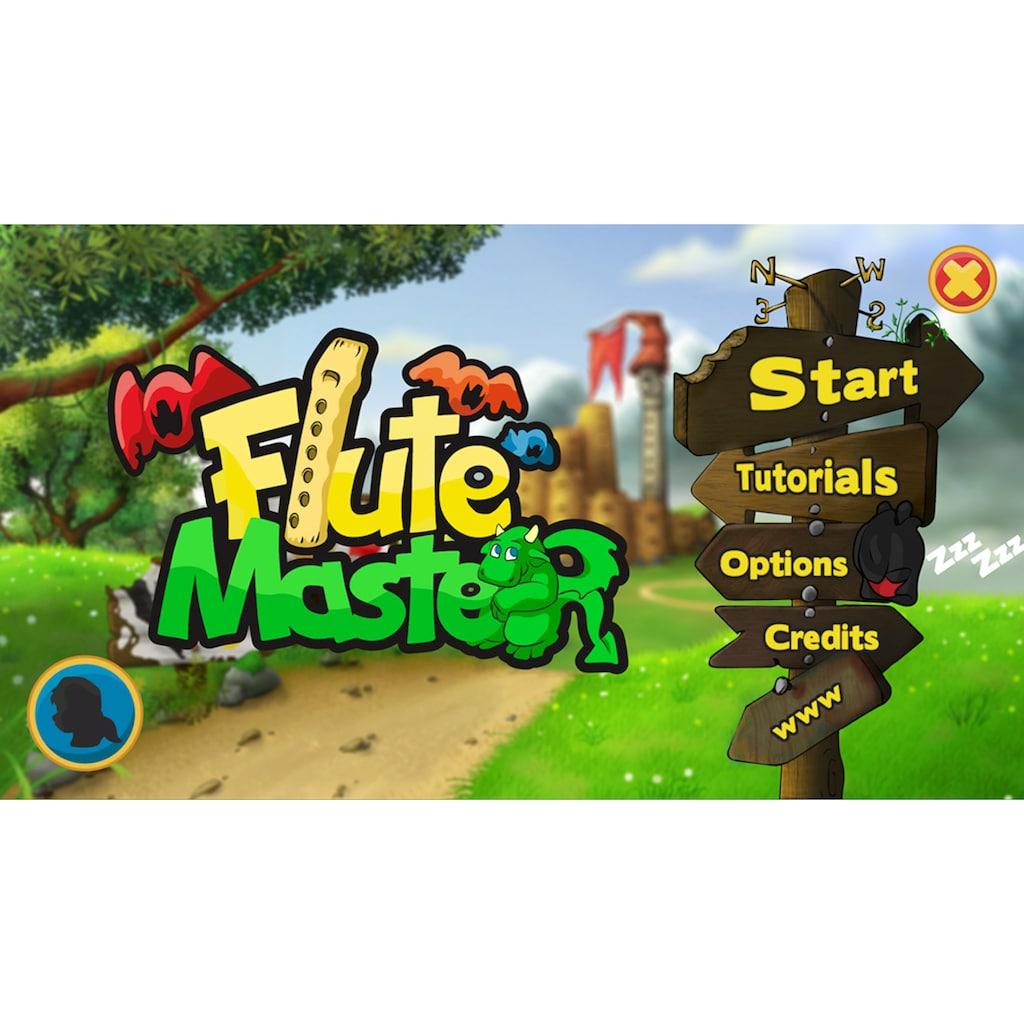 Voggenreiter Blockflöte »Flute Master (App) mit Holz-Kunststoff-Blockflöte«, Sopran, C-Dur, Barock