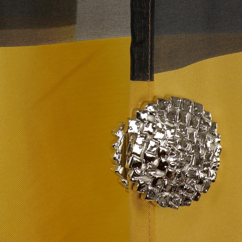Liedeco Dekomagnet »Steinoptik«, (Packung, 2 St.), für metallische Flächen