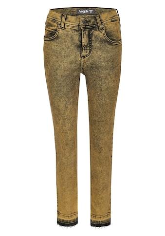 ANGELS Ankle-Jeans, mit Fransenabschlüssen kaufen