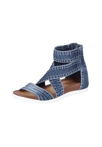 Sandalette aus Jeansware kaufen